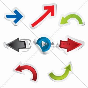 Arrow Stickers