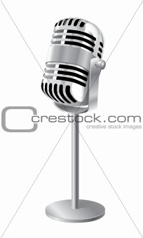 Retro Microphone