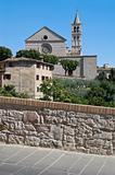 St. Chiara Basilica. Assisi. Umbria.