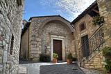St. Cristoforo Church. Corciano. Umbria.