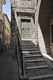 Historic House. Perugia. Umbria.