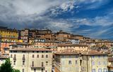 Panoramic view of Perugia. Umbria.