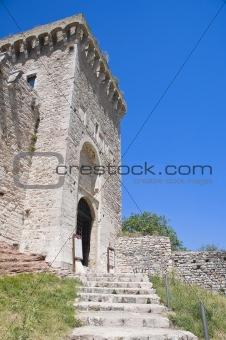 Albornoz fortress. Assisi. Umbria.