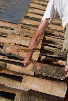 Roofing thatcher