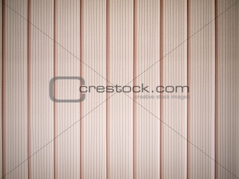Bright pink window blinds