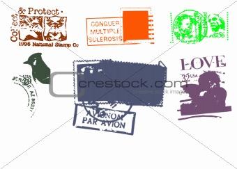 Postal stamp design 2