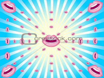 Background lips