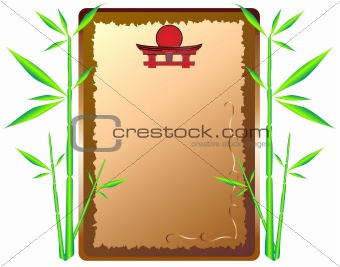 Framework-menu and bamboo