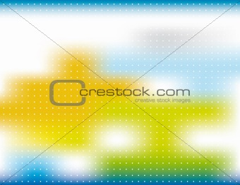 Abstract background blur with spots