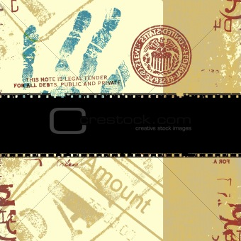 Abstract US dollar background
