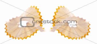 Pair of Pencil Shavings