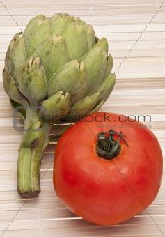 Tomato and Artichoke