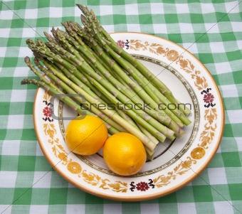 Asparagus and Lemons