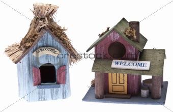 Pair of Birdhouses