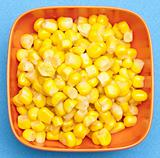Bowl of Canned Corn