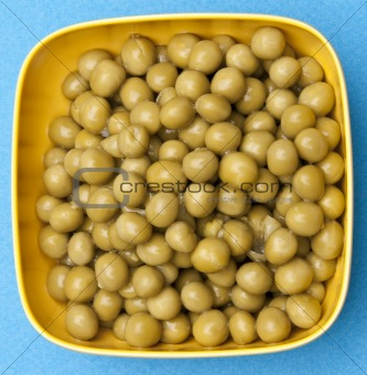 Bowl of Canned Peas