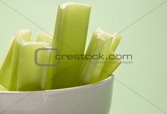 Celery on Green