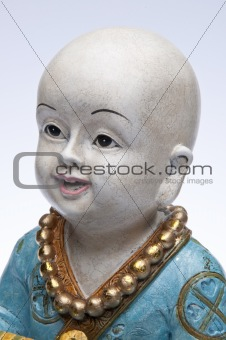 Close up of Child Monk