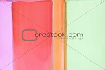 Abstract Plastic Colors Background