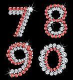 Set of diamond alphabetic figure. Vector (3)
