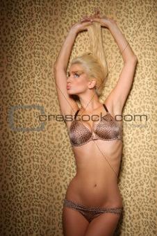 Portrait of beautiful sexual woman