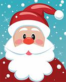 santa with big beard