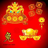 Chinese New Year decoration | Set 3