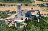 St. Francesco Basilica. Assisi. Umbria.