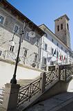 Town Hall. Spoleto. Umbria.