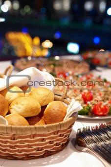Food of restaurant