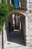 Alleyway. Corciano. Umbria.