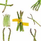 Healthy Asparagus Collage