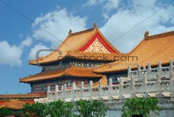 Forbidden City in Beijing China