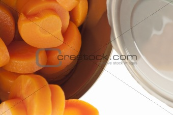 Can of sliced Carrots