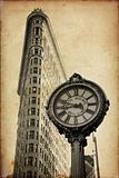 Flat Iron building in New York City