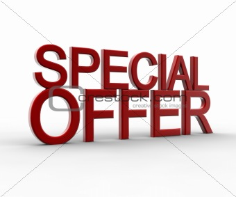 Red special offer