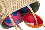 Beach Bag Full of Sporting Gear