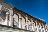 Palace of Marquis. Adelfia. Apulia.