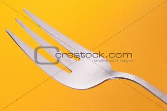 Fork on Orange