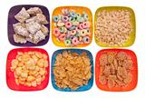 Variety of Breakfast Cereal