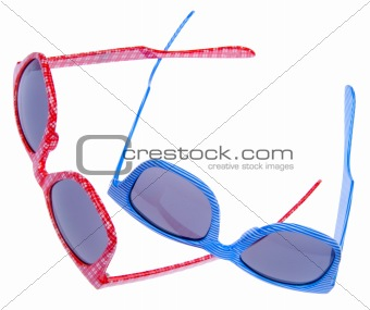 Pair of Trendy Hipster Sunglasses
