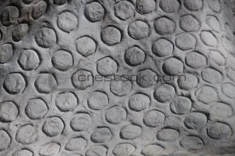 Grey Circles Texture Background