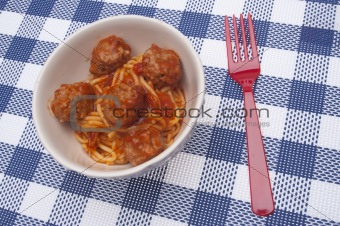 American Spaghetti and Meatballs