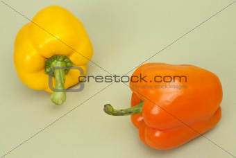 Pair of Fresh Peppers