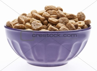 Breakfast Cereal with Heart Shapes
