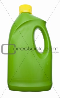 Green Cleaning Bottle
