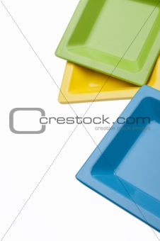 Abstract Plates Border Background Image
