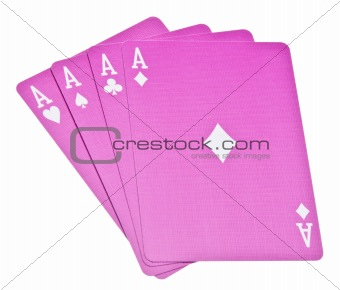 Four Aces Wins the Hand