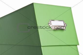 Green File Box