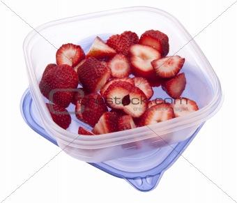 Sliced Strawberrys Leftover